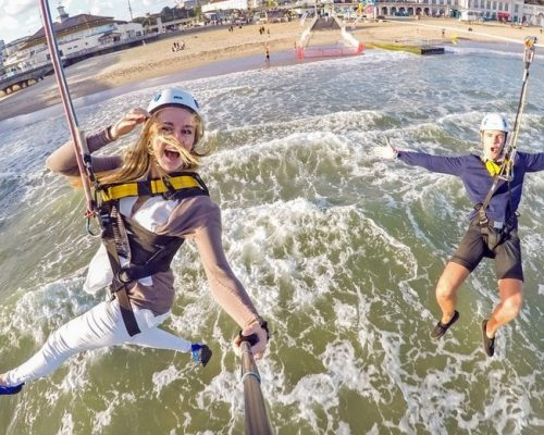 Dual PierZip 2 for 1 Summer offer, RockReef, Bournemouth Pier