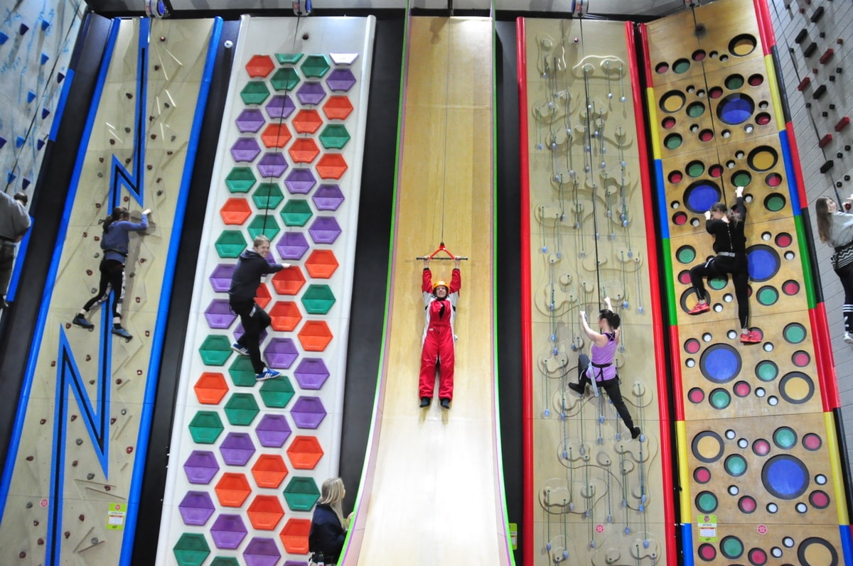 Clip n' climb in Bournemouth