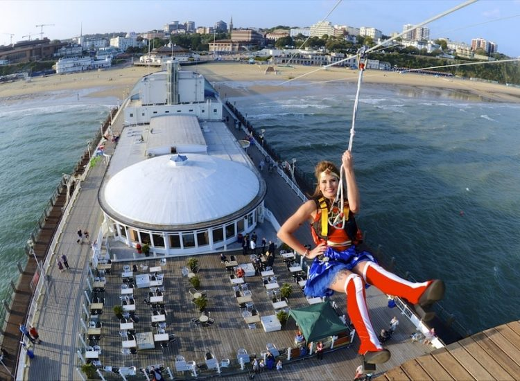 SuperheroesII Bournemouth Zip Wire