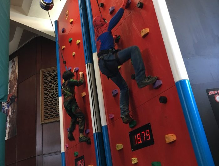 Speedwall Rock Climbing at RockReef