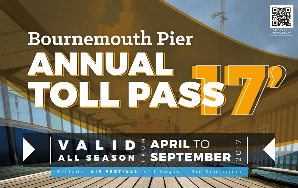 Bournemouth Pier Annual Toll Pass