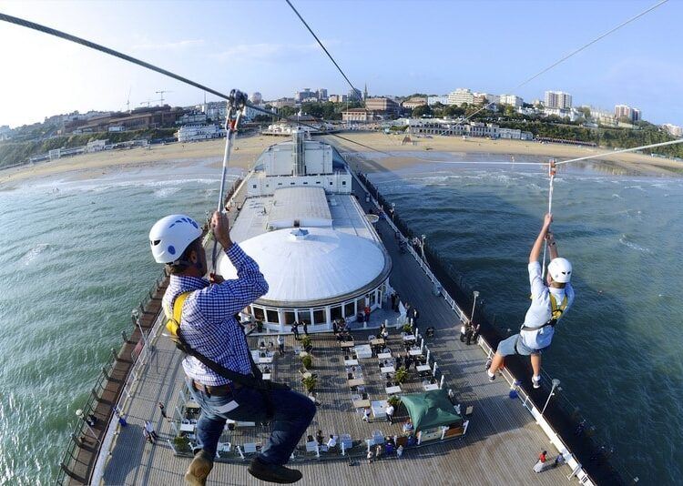 Double Zip Lining in Bournemouth
