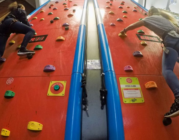 Speed Rock Climbing Wall