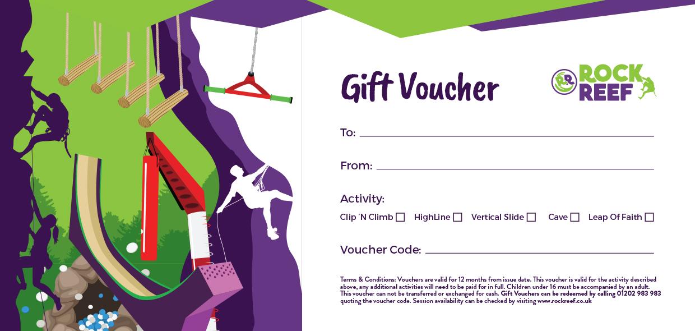 RockReef Gift Voucher
