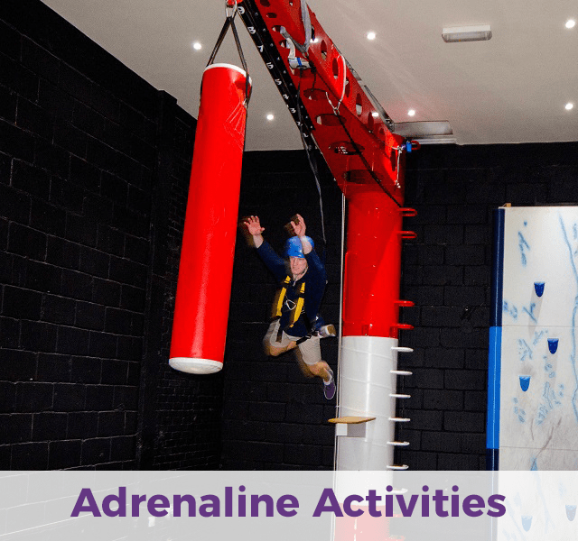 Adrenaline activities at RockReef