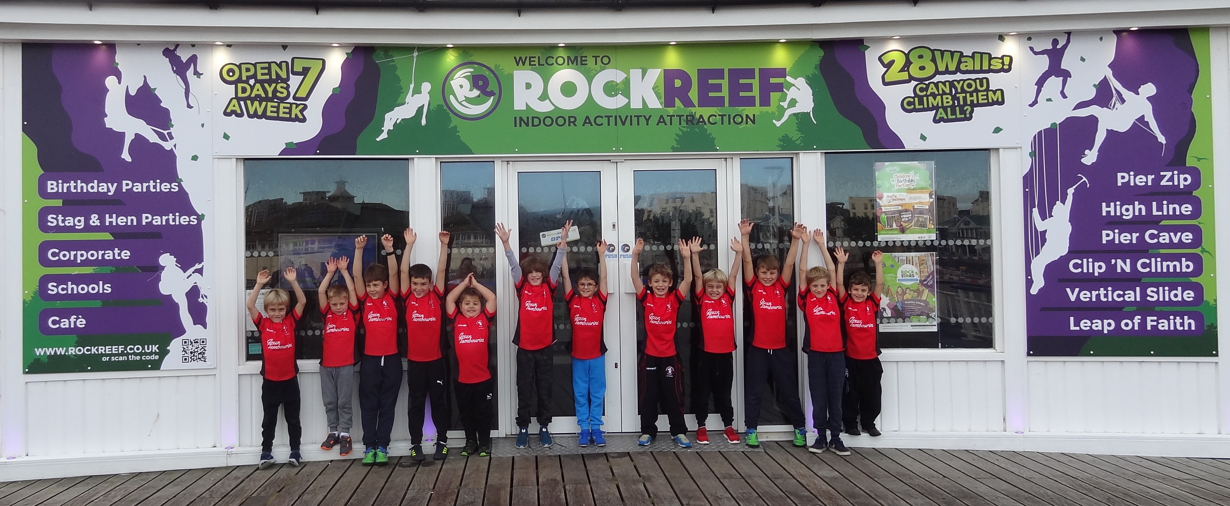 RockReef, Indoor Activity Attraction