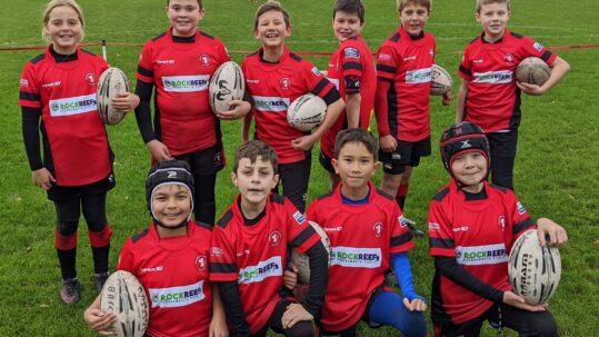 Bournemouth Rugby Club Under 11s Team