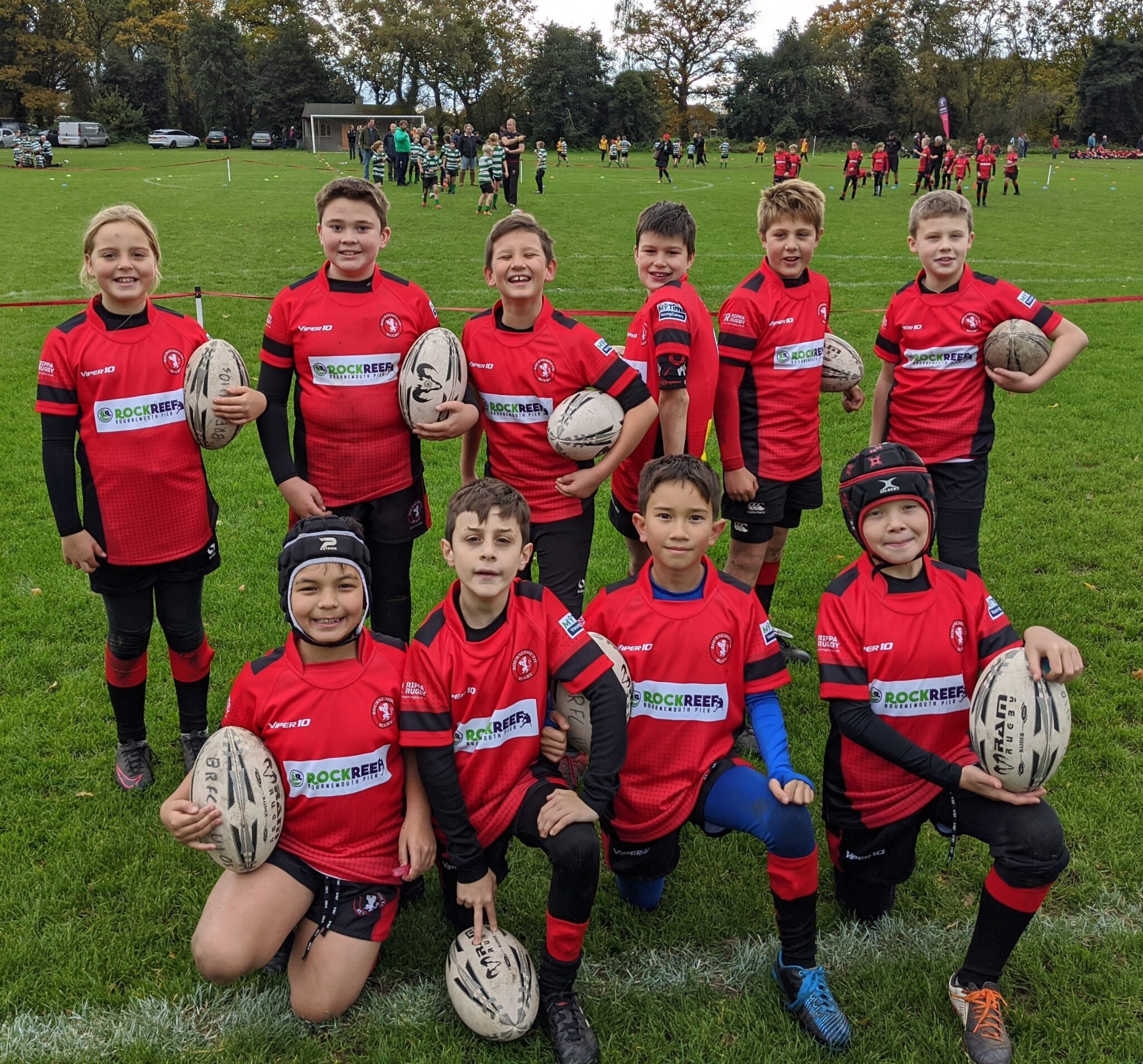 Bournemouth Rugby Club Under 11s Team