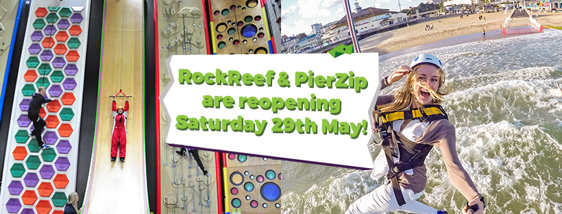 RockReef PierZip reopening