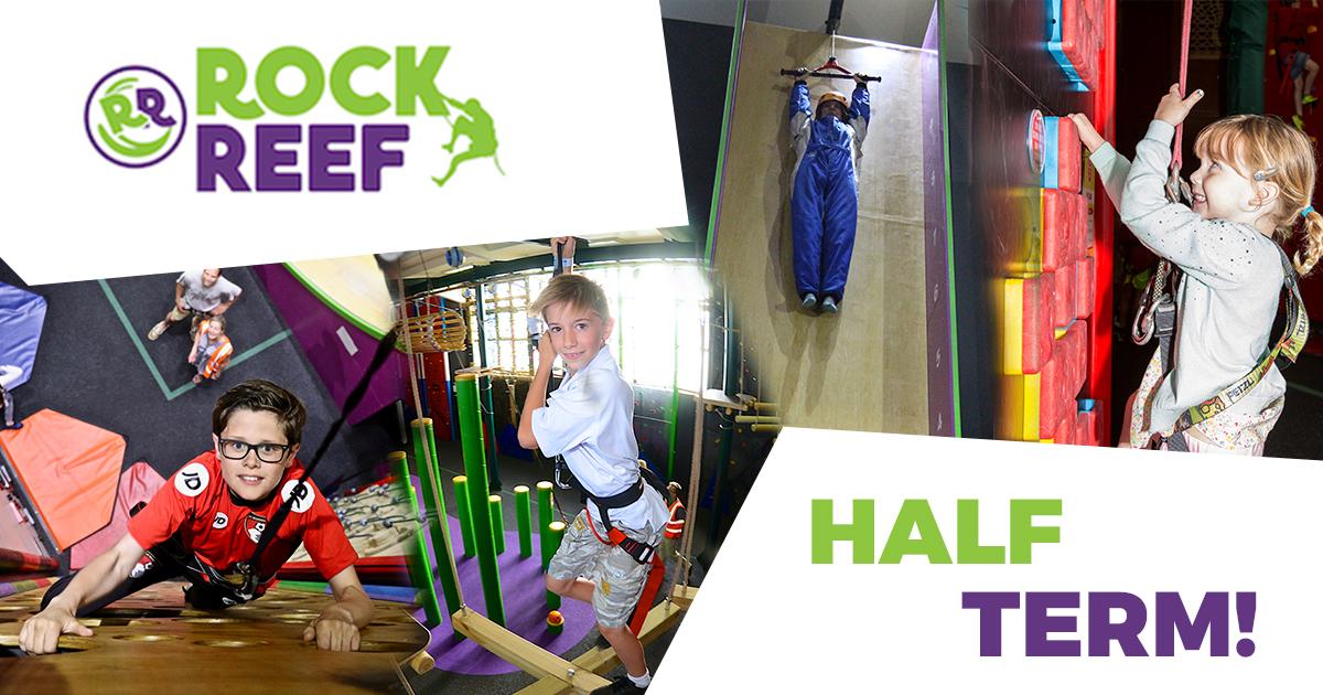 RockReef October Half Term holiday activities